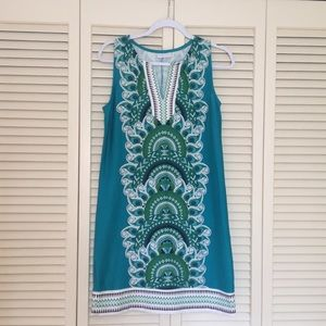 Printed New York and Company Bodycon Dress